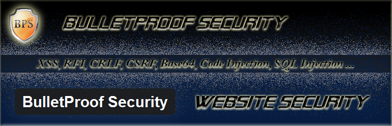 Wordpress Plugin - Bulletproof Security